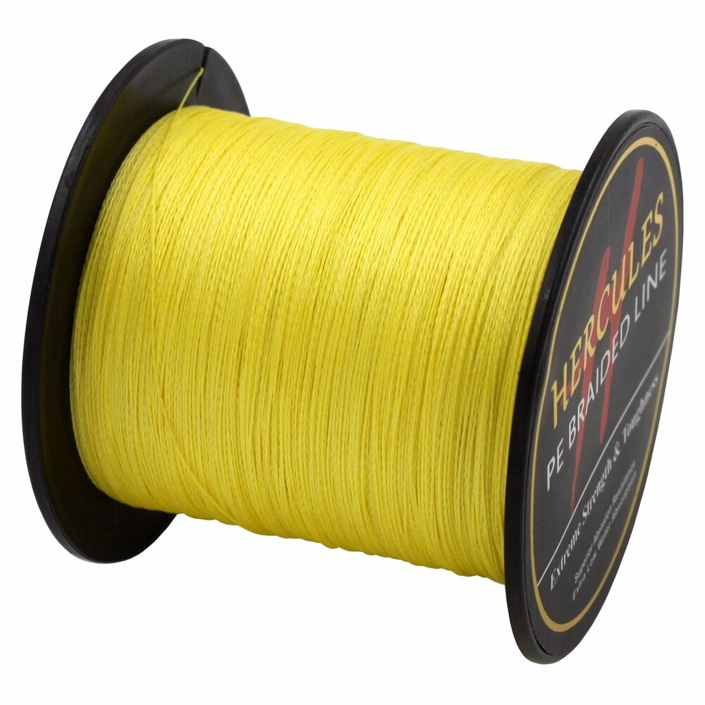 Hercules-6lb-8lb-100-PE-Strong-Braid-Fishing-Line-SuperPower-Extreme-4-Strands thumbnail 150
