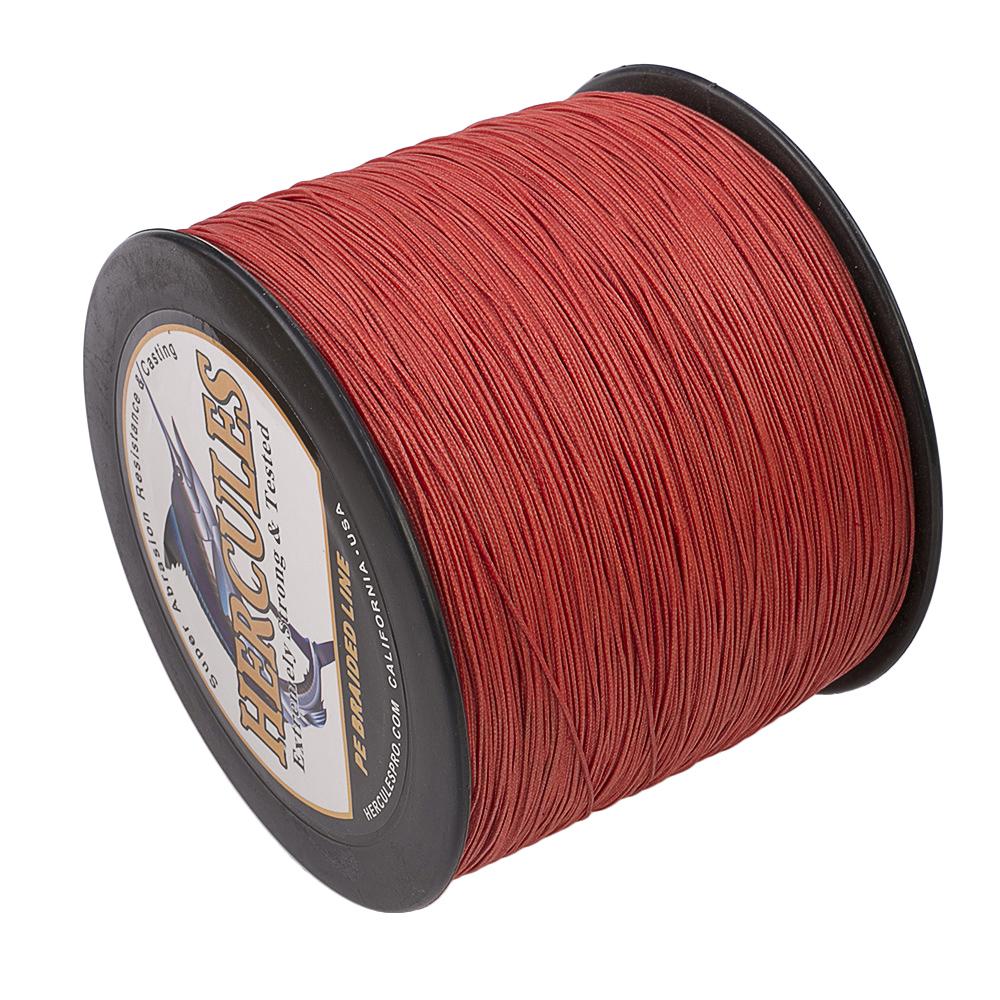 1500M-1640Yds-6-200LB-Test-Color-Select-Hercules-Braid-Fishing-Line-PE-Spinner thumbnail 88