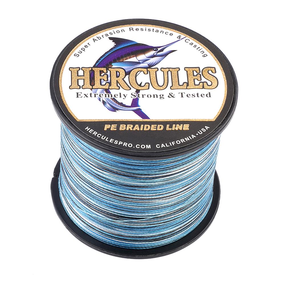 1500M-1640Yds-6-200LB-Test-Color-Select-Hercules-Braid-Fishing-Line-PE-Spinner thumbnail 36