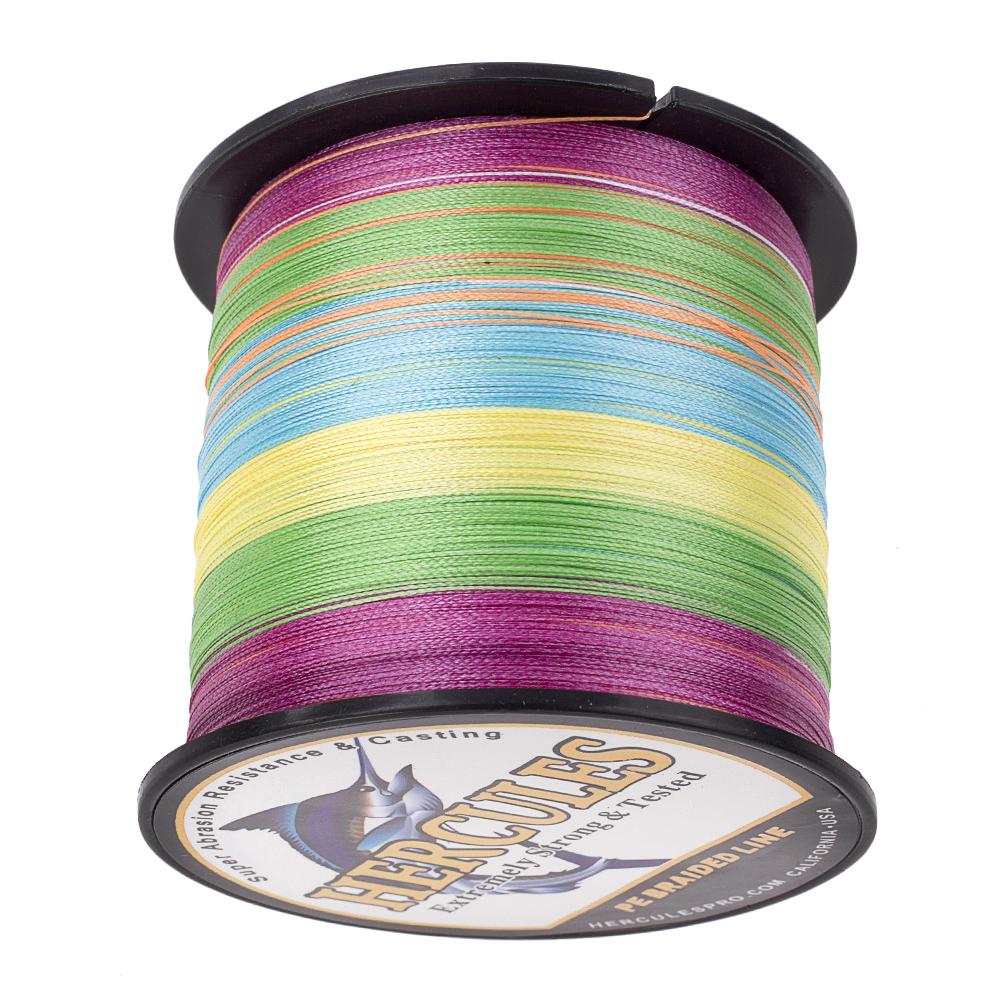 1500M-1640Yds-6-200LB-Test-Color-Select-Hercules-Braid-Fishing-Line-PE-Spinner thumbnail 68