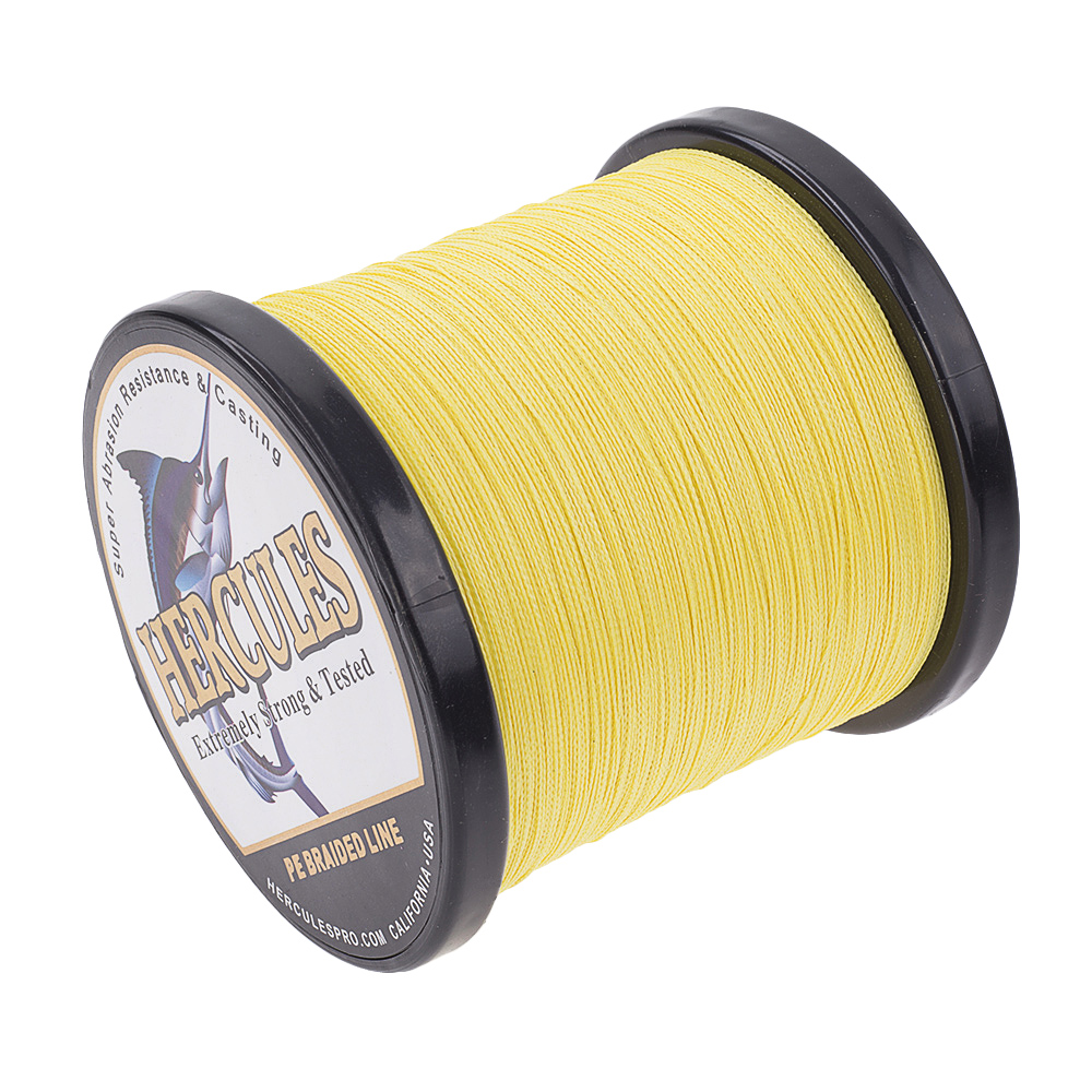 1500M-1640Yds-6-200LB-Test-Color-Select-Hercules-Braid-Fishing-Line-PE-Spinner thumbnail 100