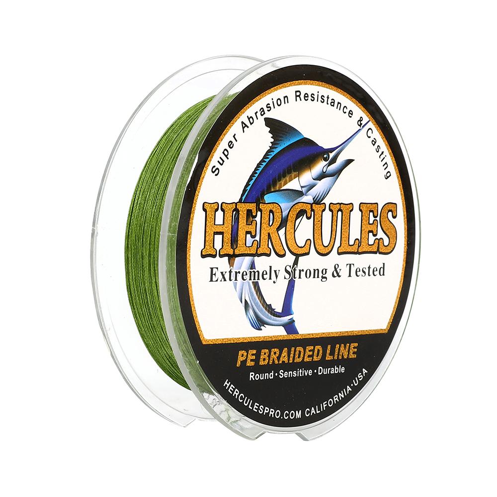 Hercules 4 8 9 12 Strands 6-300lbs Weave Braided Fishing Line Pink 100-2000m