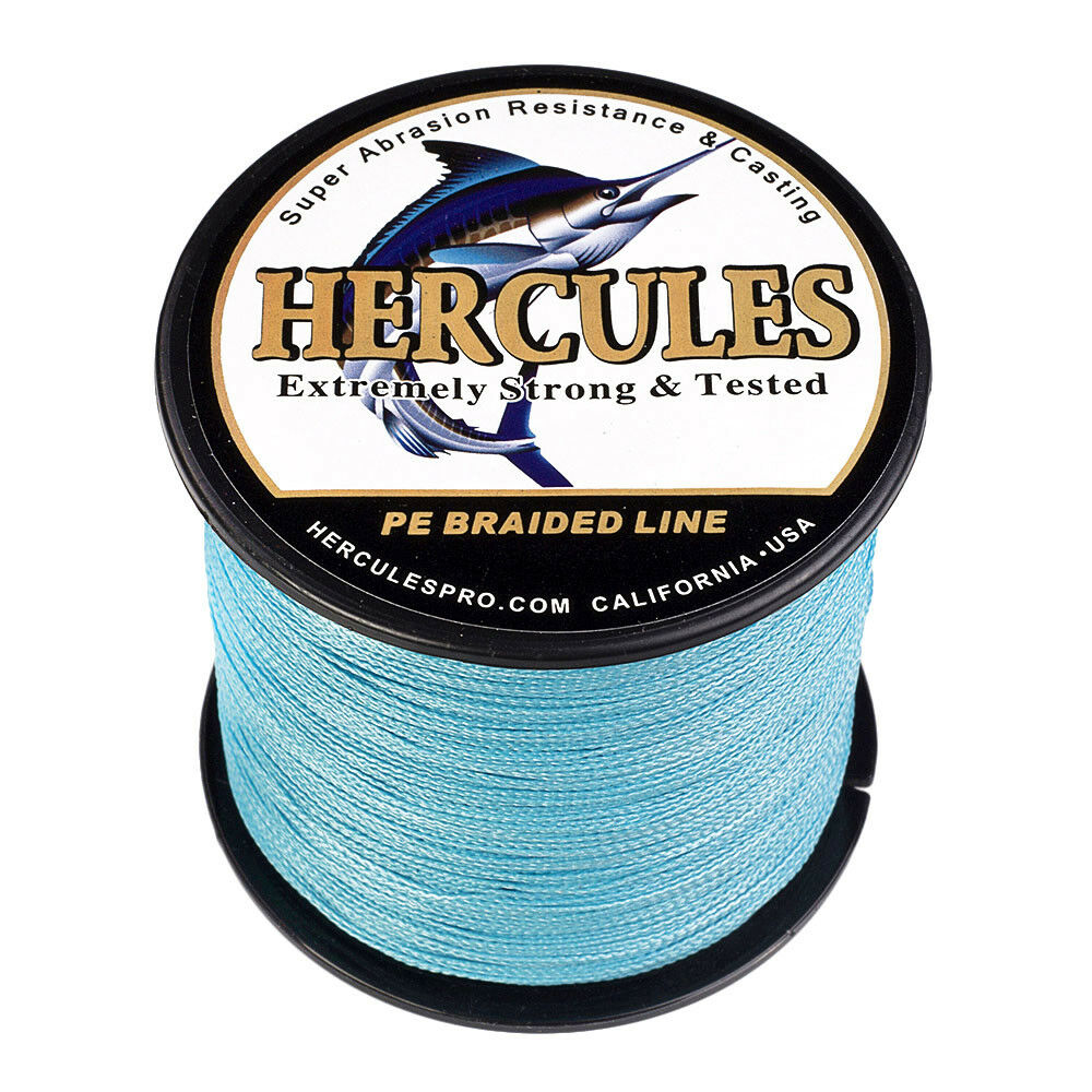 Hercules PE 500M 547 Yards 4 Strands 40lbs Braided Fishing Line Camouflage Fish