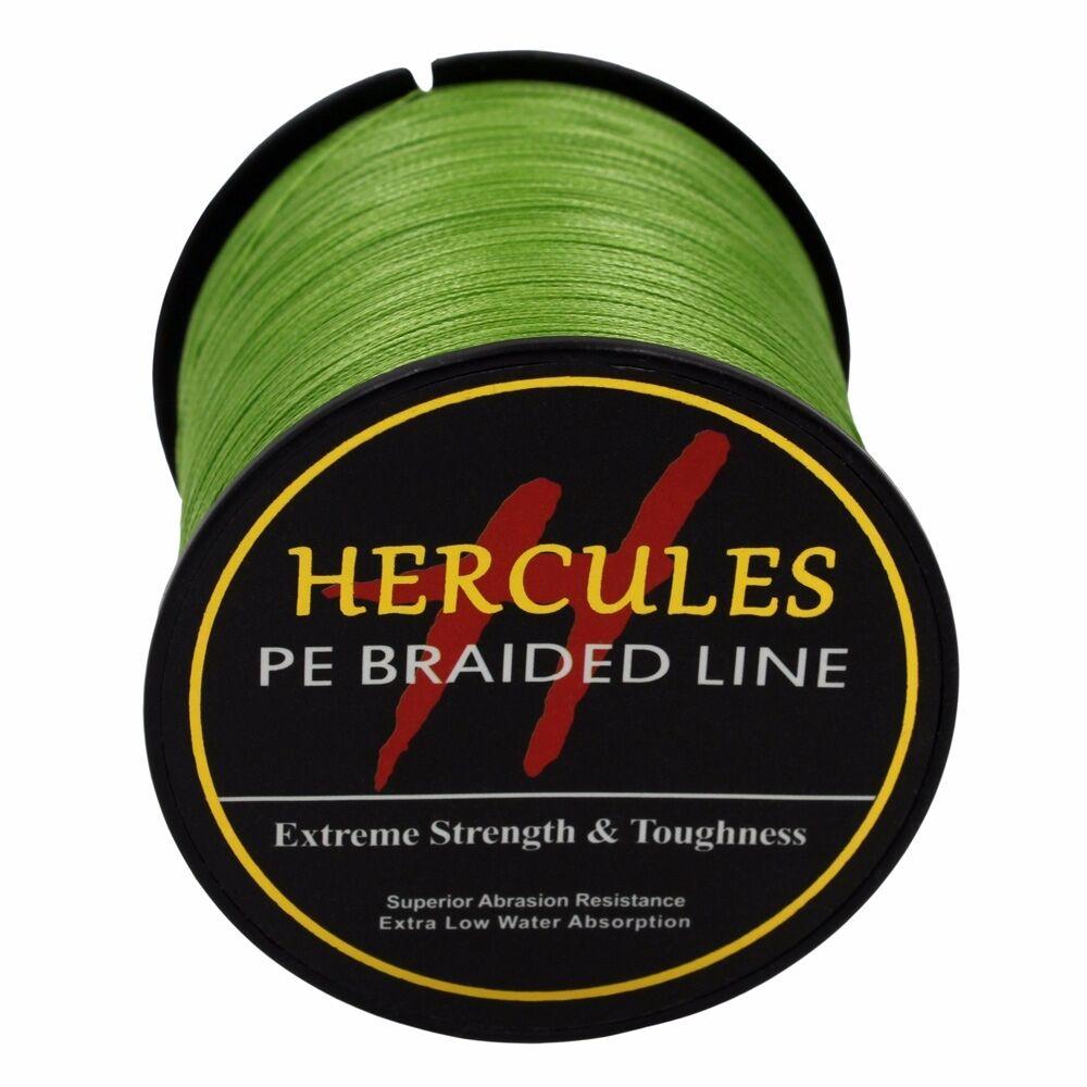 Hercules-Army-Green-Braided-100M-2000M-6lb-300lb-Extreme-PE-Super-Fishing-Line thumbnail 11
