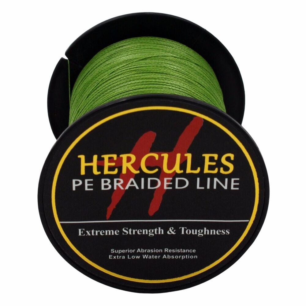 Hercules-Army-Green-Braided-100M-2000M-6lb-300lb-Extreme-PE-Super-Fishing-Line thumbnail 23