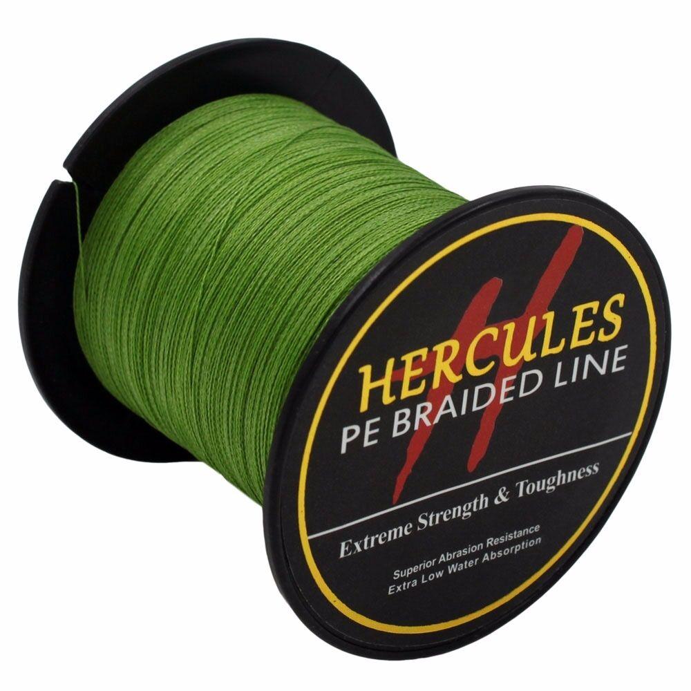 Hercules-Army-Green-Braided-100M-2000M-6lb-300lb-Extreme-PE-Super-Fishing-Line thumbnail 32