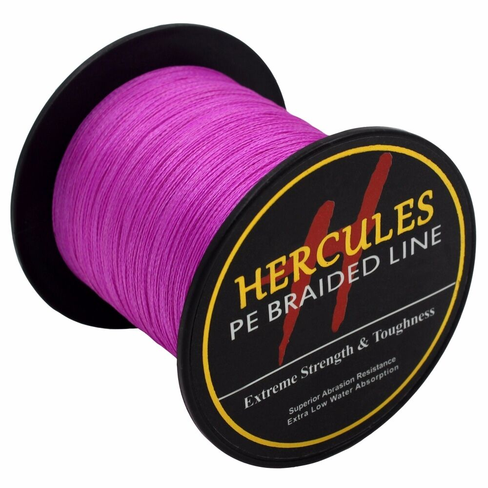 Hercules Geflochtene Angelschnur Rosa Extreme 100M-2000M 6lb-300lb PE Super