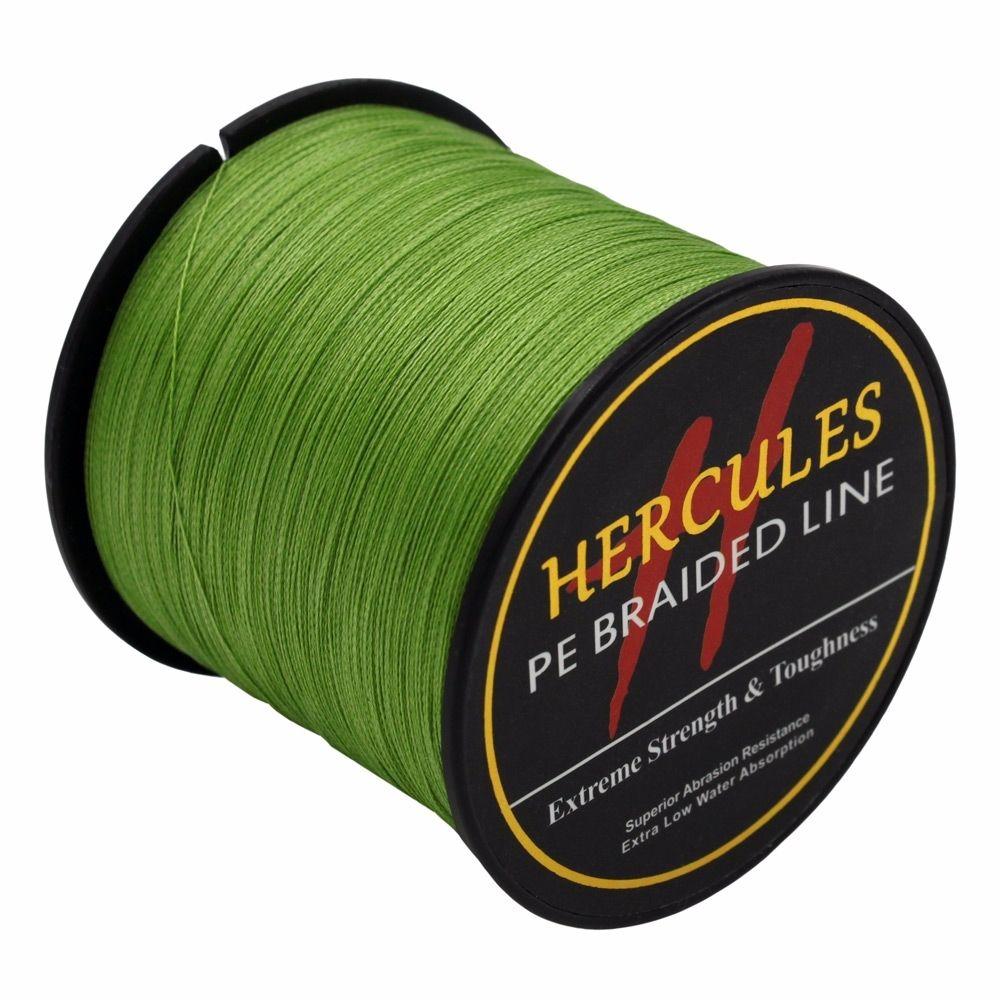 Hercules-Army-Green-Braided-100M-2000M-6lb-300lb-Extreme-PE-Super-Fishing-Line thumbnail 56