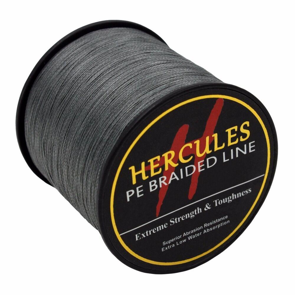 Gray-100M-2000M-6lb-300lb-Extreme-polyethylene-Super-4-S-8-S-Hercules-Tresse-Ligne-de-peche miniature 56