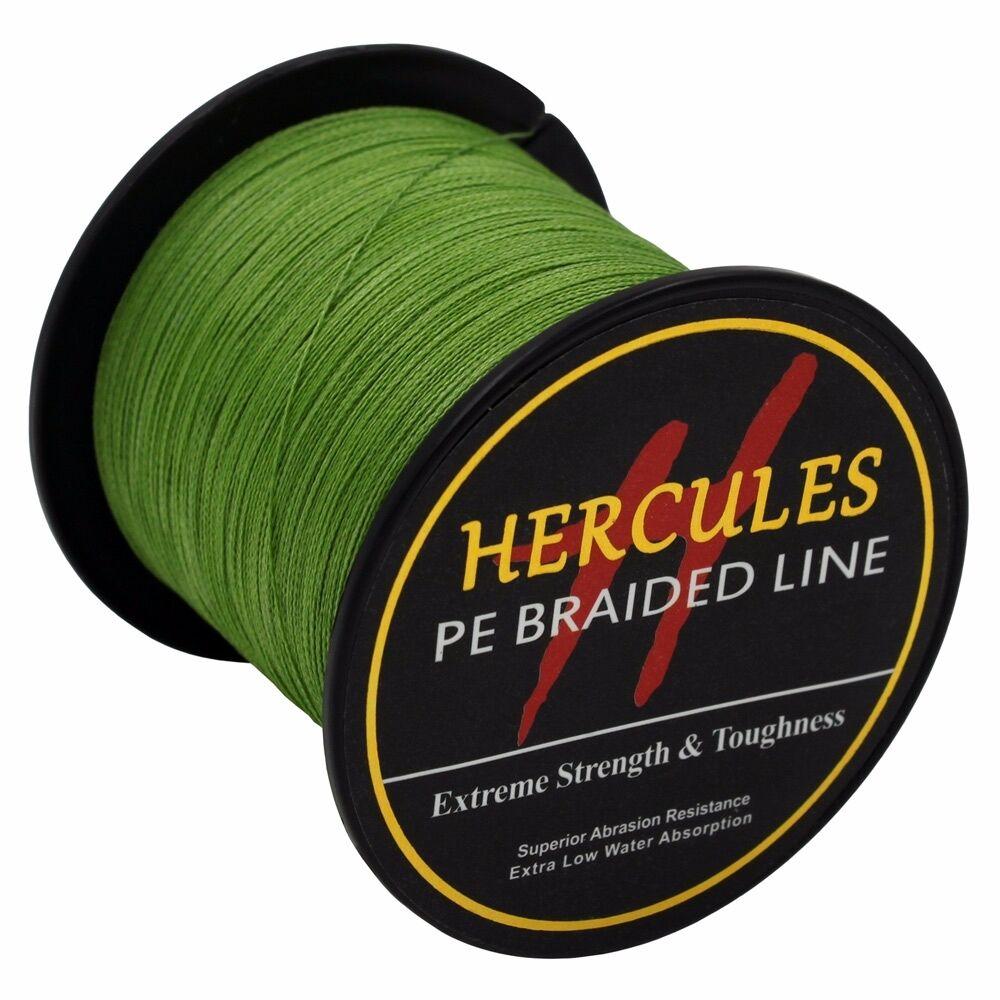 Hercules-Army-Green-Braided-100M-2000M-6lb-300lb-Extreme-PE-Super-Fishing-Line thumbnail 68