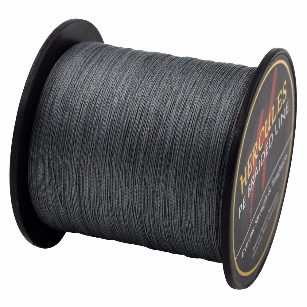 Gray-100M-2000M-6lb-300lb-Extreme-polyethylene-Super-4-S-8-S-Hercules-Tresse-Ligne-de-peche miniature 61