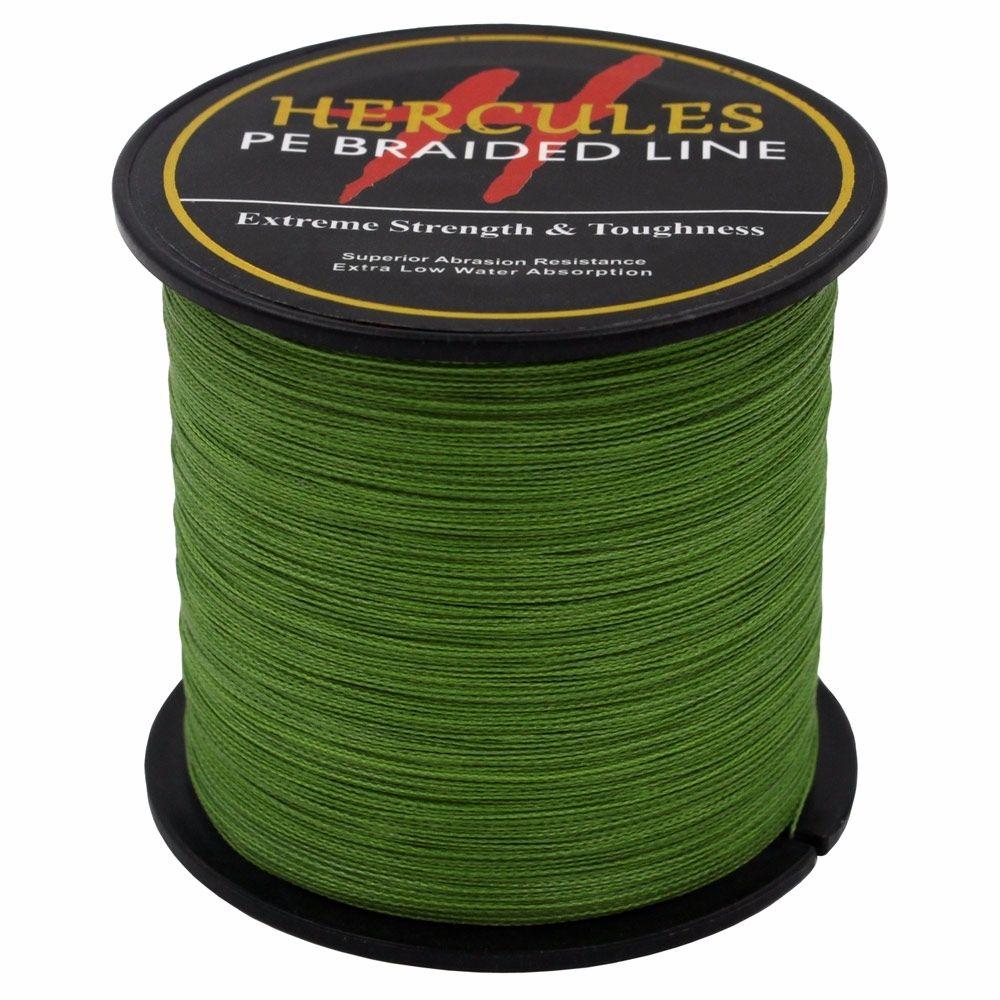 Hercules-Army-Green-Braided-100M-2000M-6lb-300lb-Extreme-PE-Super-Fishing-Line thumbnail 70