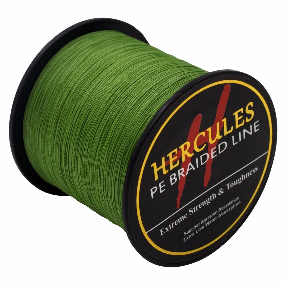 Hercules-Army-Green-Braided-100M-2000M-6lb-300lb-Extreme-PE-Super-Fishing-Line thumbnail 72
