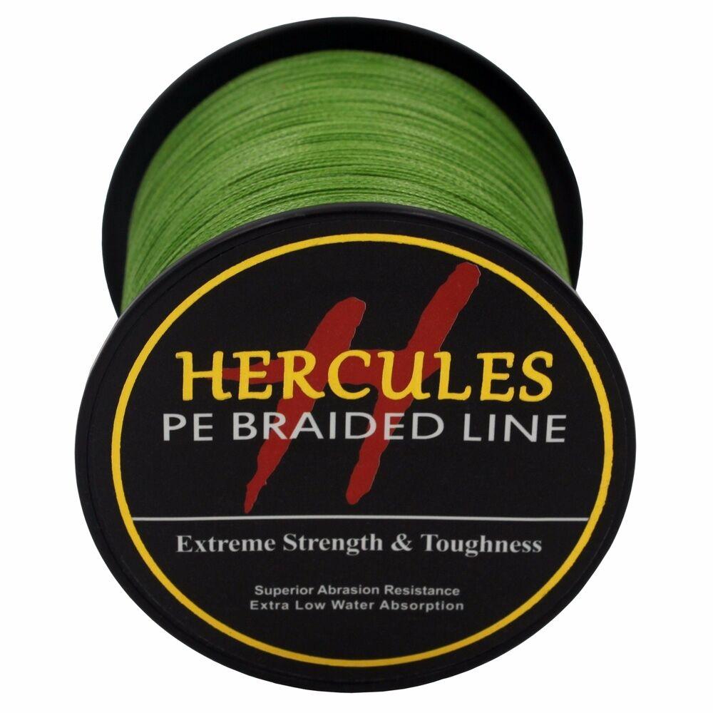Hercules-Army-Green-Braided-100M-2000M-6lb-300lb-Extreme-PE-Super-Fishing-Line thumbnail 71