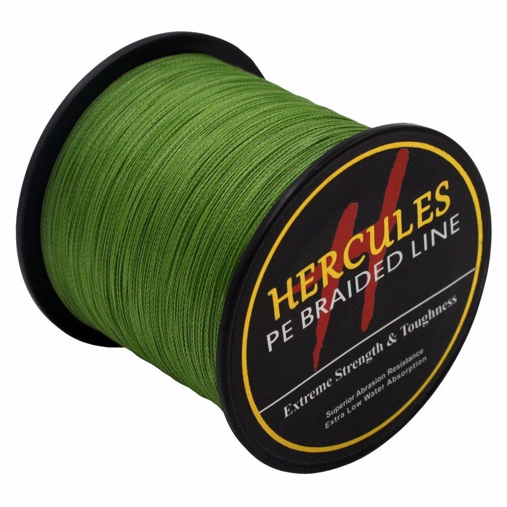 Hercules-Army-Green-Braided-100M-2000M-6lb-300lb-Extreme-PE-Super-Fishing-Line thumbnail 80