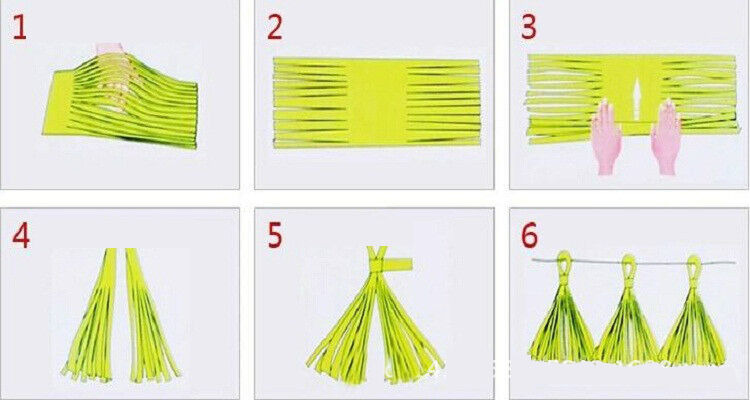 50-x-Tissue-Paper-Tassels-Garlands-Bunting-Wedding-Party-Decoration-Balloon-Tail thumbnail 13