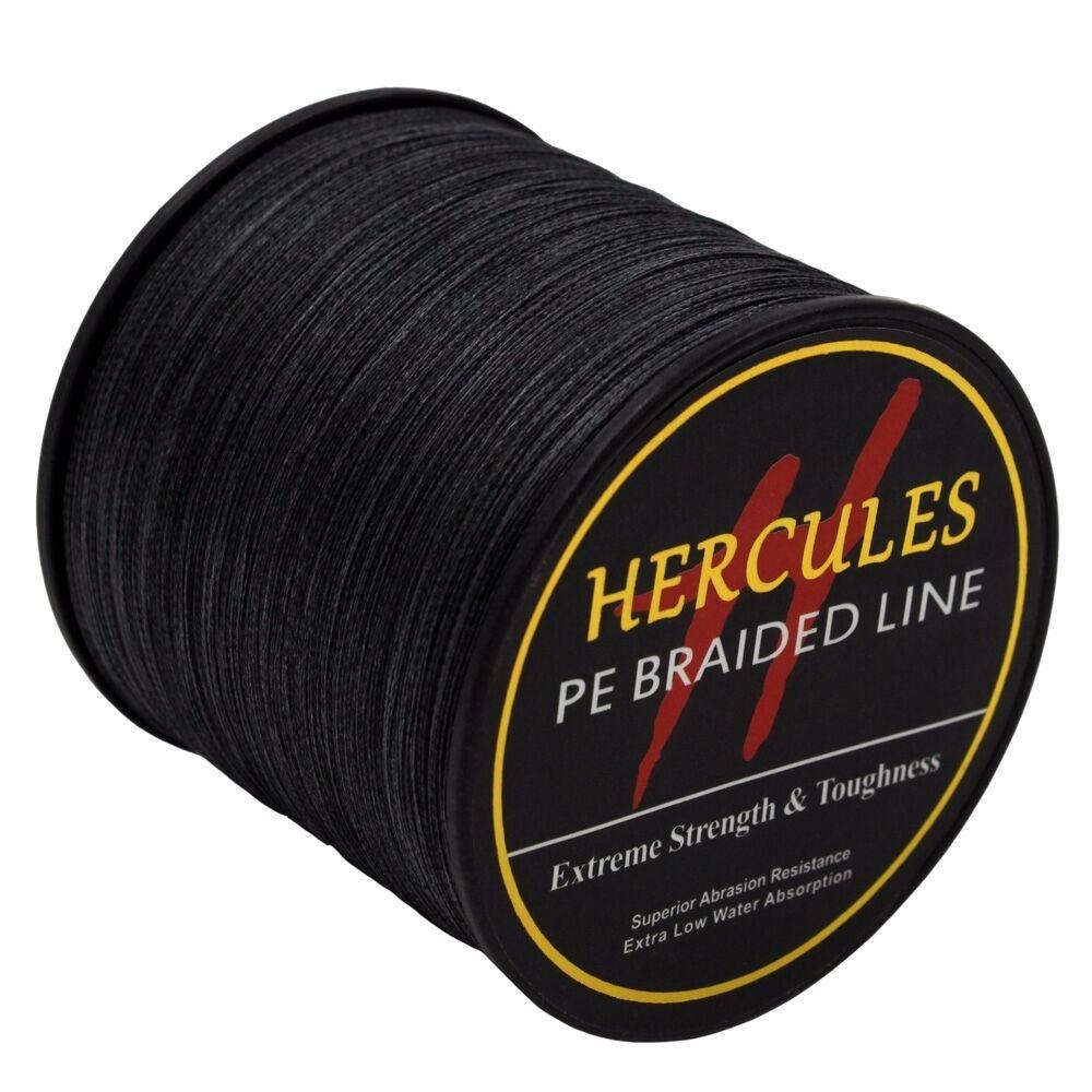 100-PE-2000M-2187Yds-6-100lb-Hercules-Ligne-de-peche-Tressee-Strong-4-Strands miniature 85