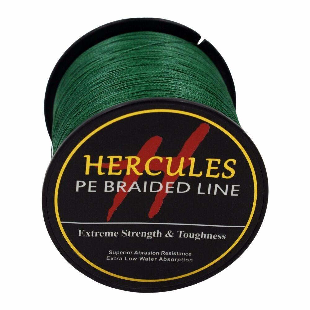 100-PE-2000M-2187Yds-6-100lb-Hercules-Ligne-de-peche-Tressee-Strong-4-Strands miniature 124