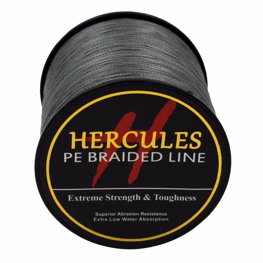 100-PE-2000M-2187Yds-6-100lb-Hercules-Ligne-de-peche-Tressee-Strong-4-Strands miniature 28