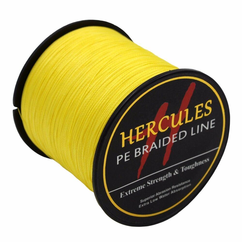 100-PE-2000M-2187Yds-6-100lb-Hercules-Ligne-de-peche-Tressee-Strong-4-Strands miniature 41