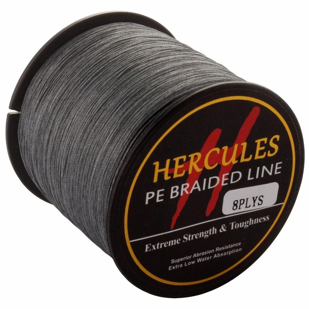 Hercules 1094Yds Braid Fishing Line 10lb-300lb PE Super Strong 8 Strand 1000M