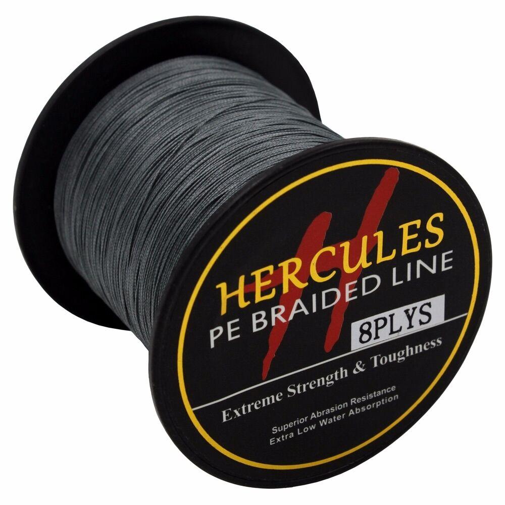 8-brins-ligne-de-peche-tressee-100M-10-300lb-Super-Hercules-Braid-Fishing-Line miniature 36