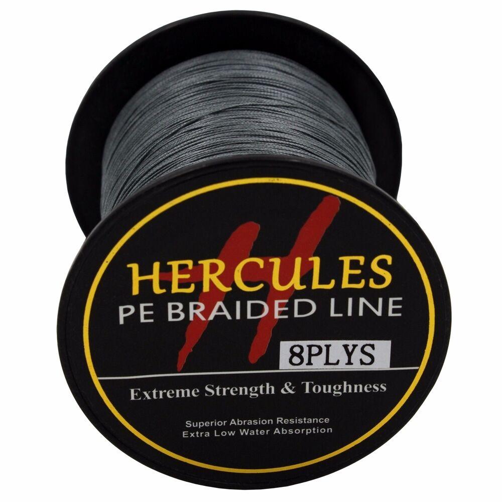 8-brins-ligne-de-peche-tressee-100M-10-300lb-Super-Hercules-Braid-Fishing-Line miniature 43