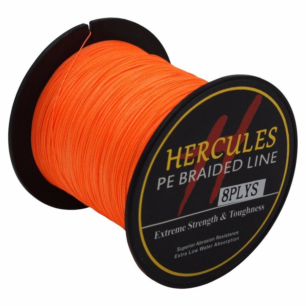 8-brins-ligne-de-peche-tressee-100M-10-300lb-Super-Hercules-Braid-Fishing-Line miniature 104