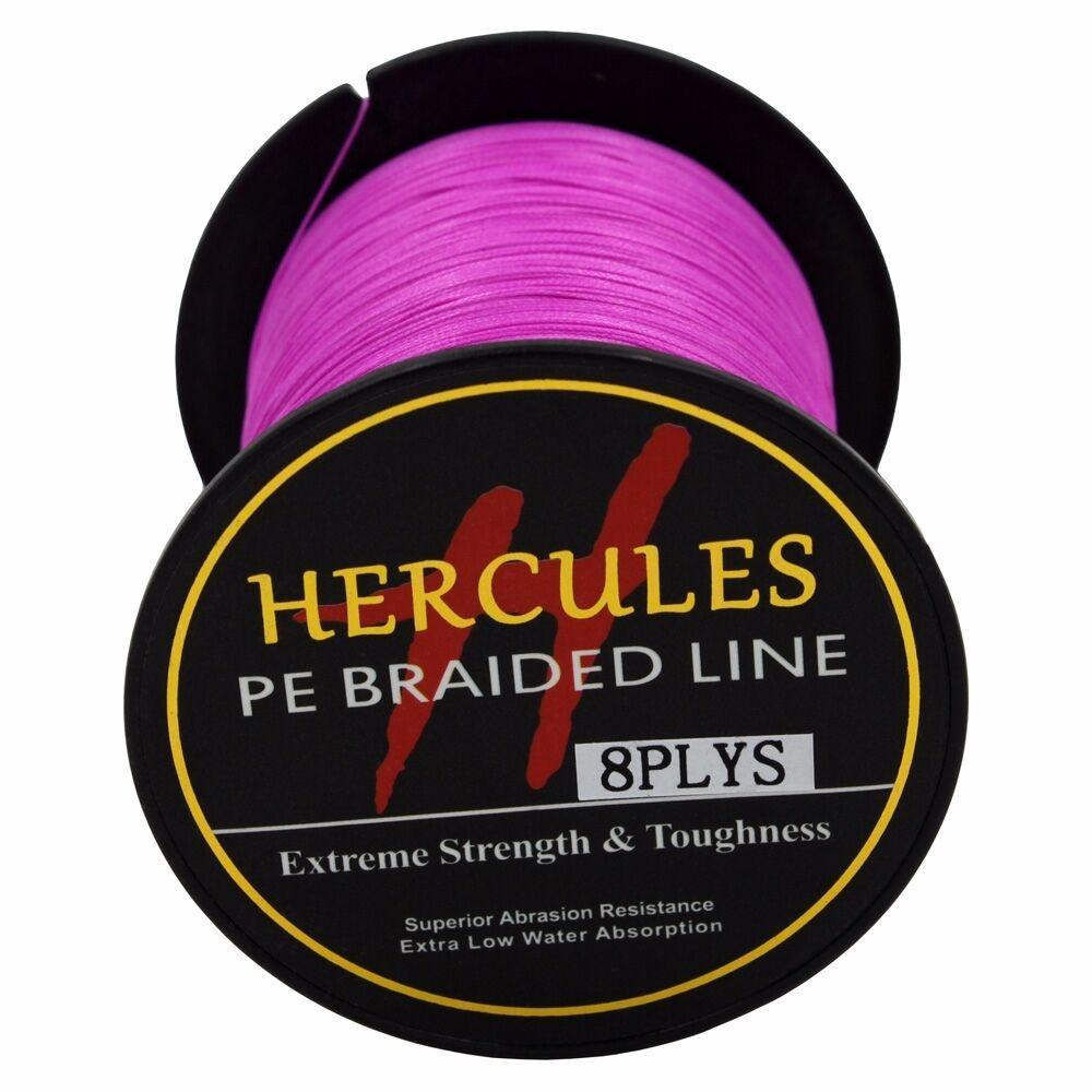 8-brins-ligne-de-peche-tressee-100M-10-300lb-Super-Hercules-Braid-Fishing-Line miniature 115