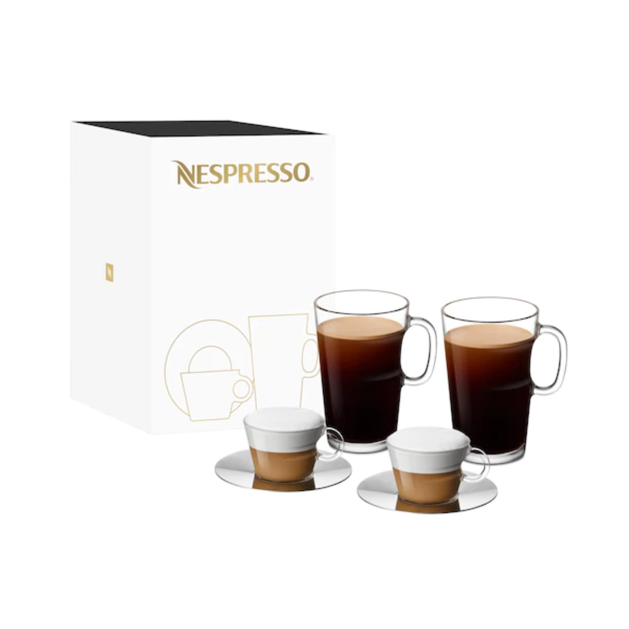 Nespresso VIEW Coffee Mugs (270ml) and Cappuccino Cups ...
