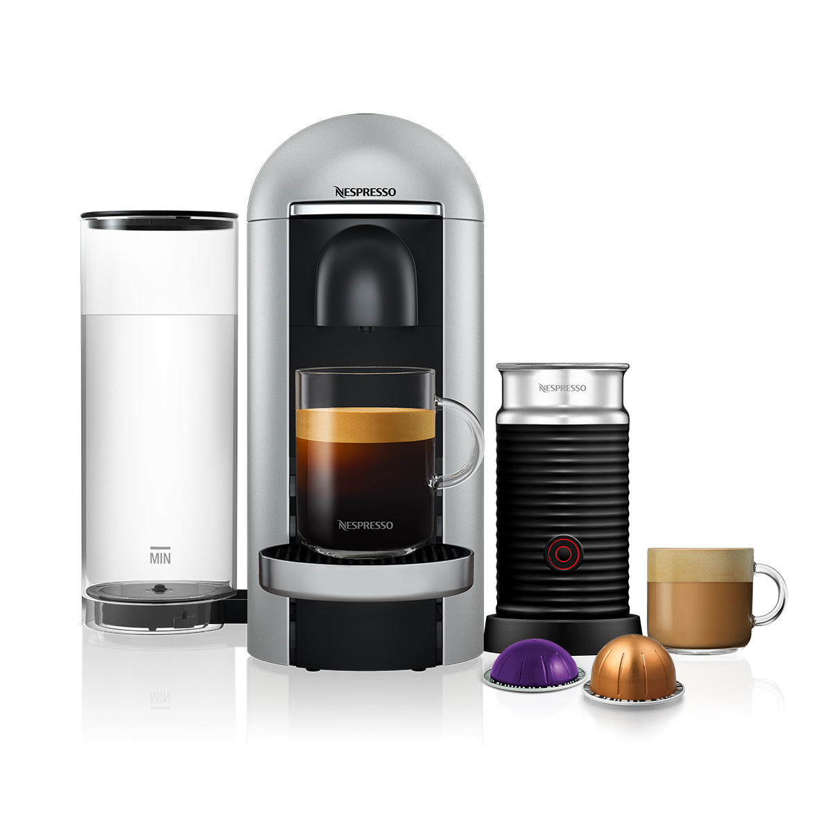 Nespresso VertuoPlus Limited Edition Bundle Coffee /&  Aeroccino3 frother