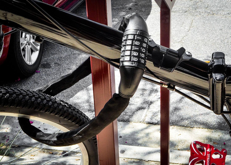 "Bicycle Cable Lock Bike Lock Heavy Duty 10mm x 36/"" Anti Theft Device w// 2 key s"