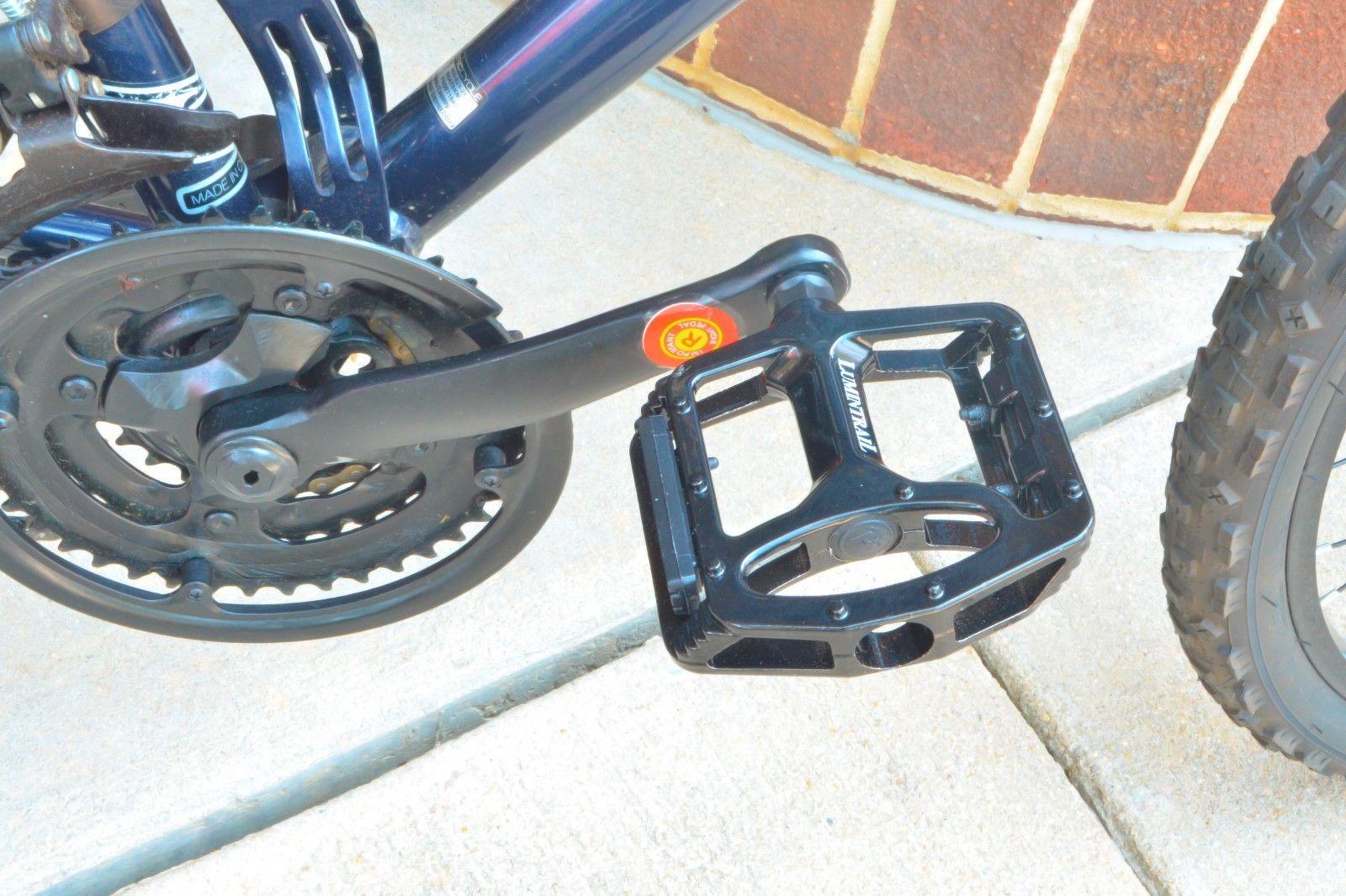 """Big Foot Bike Pedals Road MTB BMX Aluminum Alloy Flat Platform 9//16/"""" Universal"""