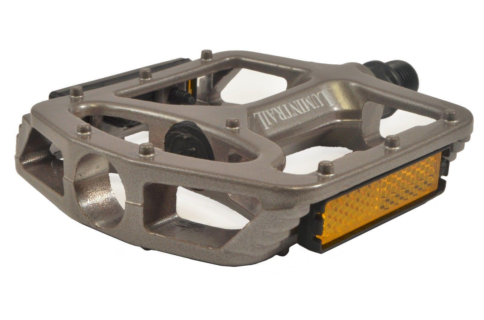 Lumintrail-Big-Foot-Bike-Pedals-Road-MTB-BMX-Aluminum-Alloy-Flat-Platform-9-16-034 thumbnail 12