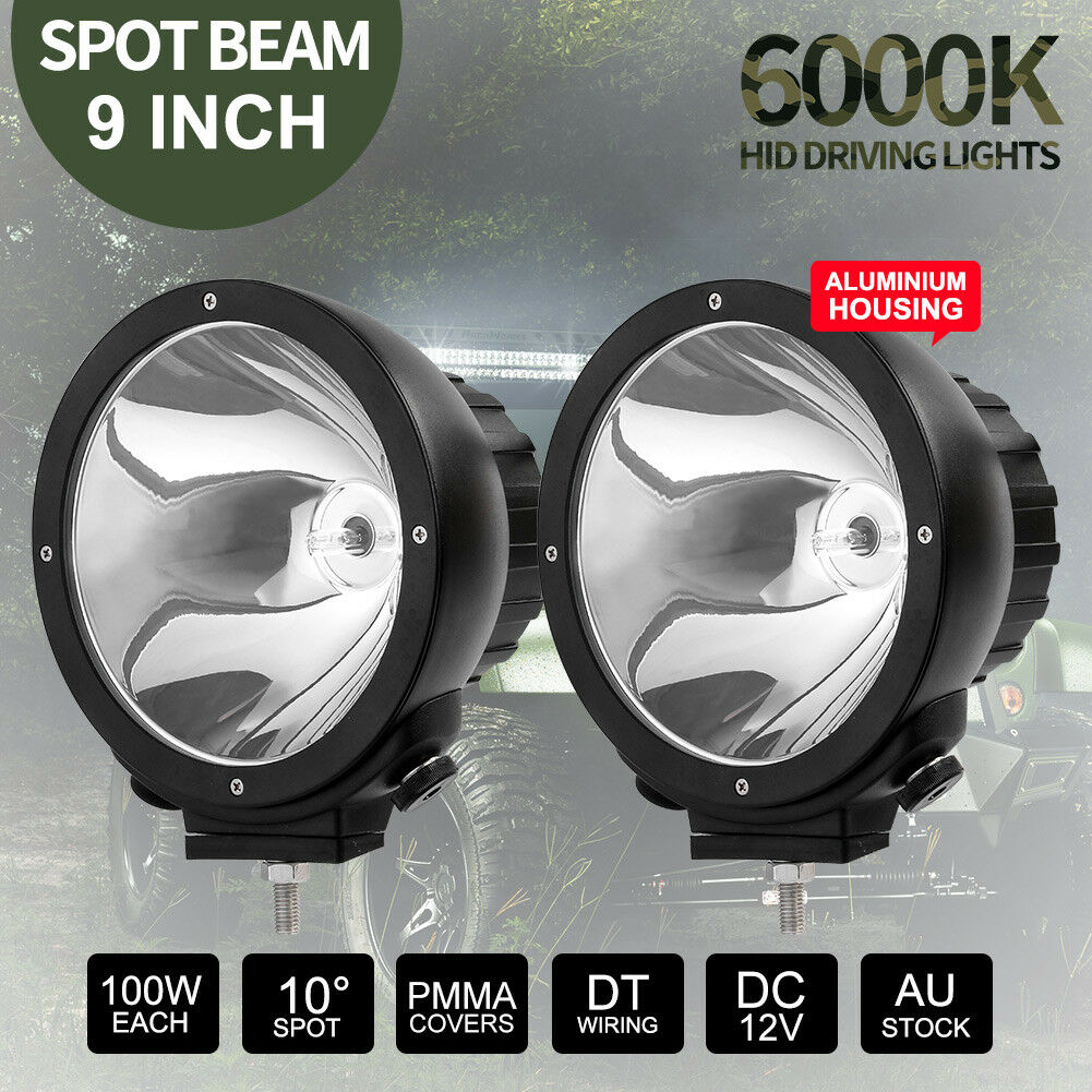 CIBIE SUPER OSCAR CLEAR COVERS FOR 4WD DRIVING LIGHTS SPOTLIGHTS