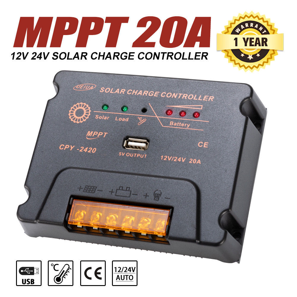 12V-250W-200W-100W-60W-10W-Solar-Panel-Kit-MONO-Caravan-Camping-Power-Charging thumbnail 64