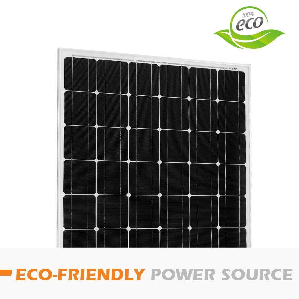 12V-250W-200W-100W-60W-10W-Solar-Panel-Kit-MONO-Caravan-Camping-Power-Charging thumbnail 79