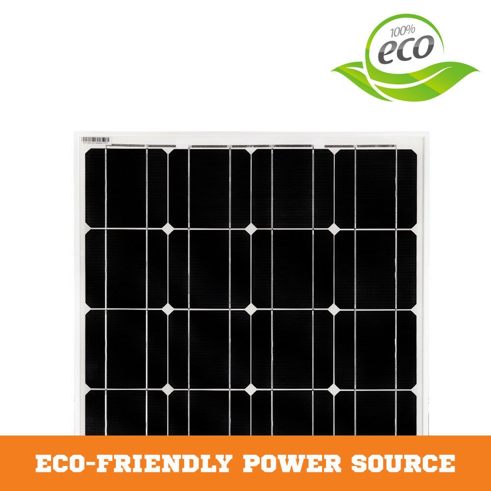 12V-250W-200W-100W-60W-10W-Solar-Panel-Kit-MONO-Caravan-Camping-Power-Charging thumbnail 34