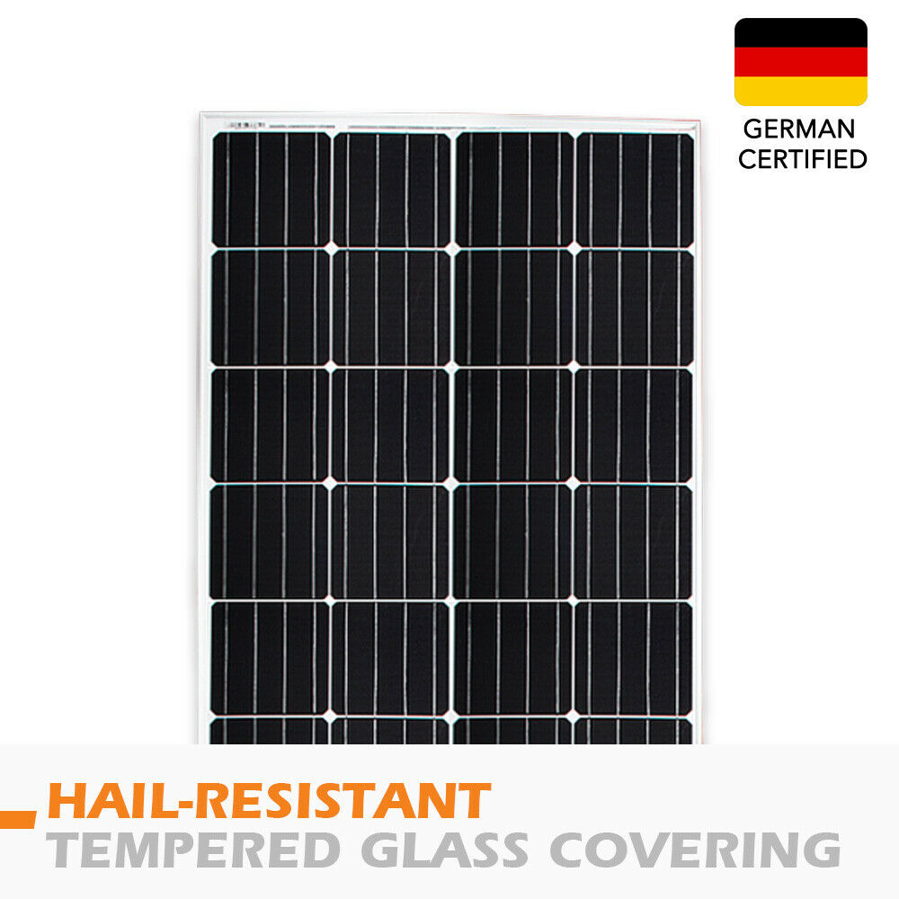 12V-250W-200W-100W-60W-10W-Solar-Panel-Kit-MONO-Caravan-Camping-Power-Charging thumbnail 56