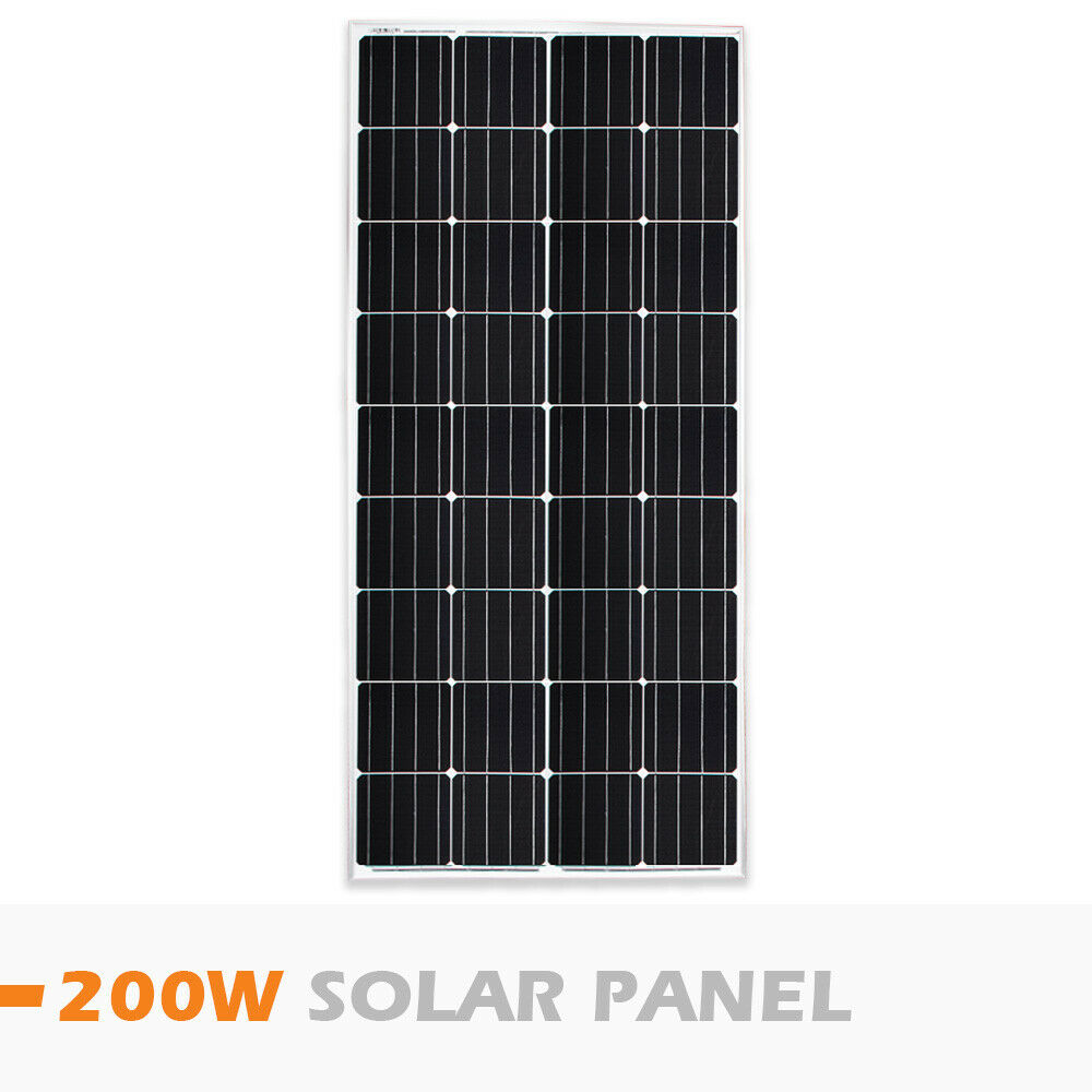 12V-250W-200W-100W-60W-10W-Solar-Panel-Kit-MONO-Caravan-Camping-Power-Charging thumbnail 53