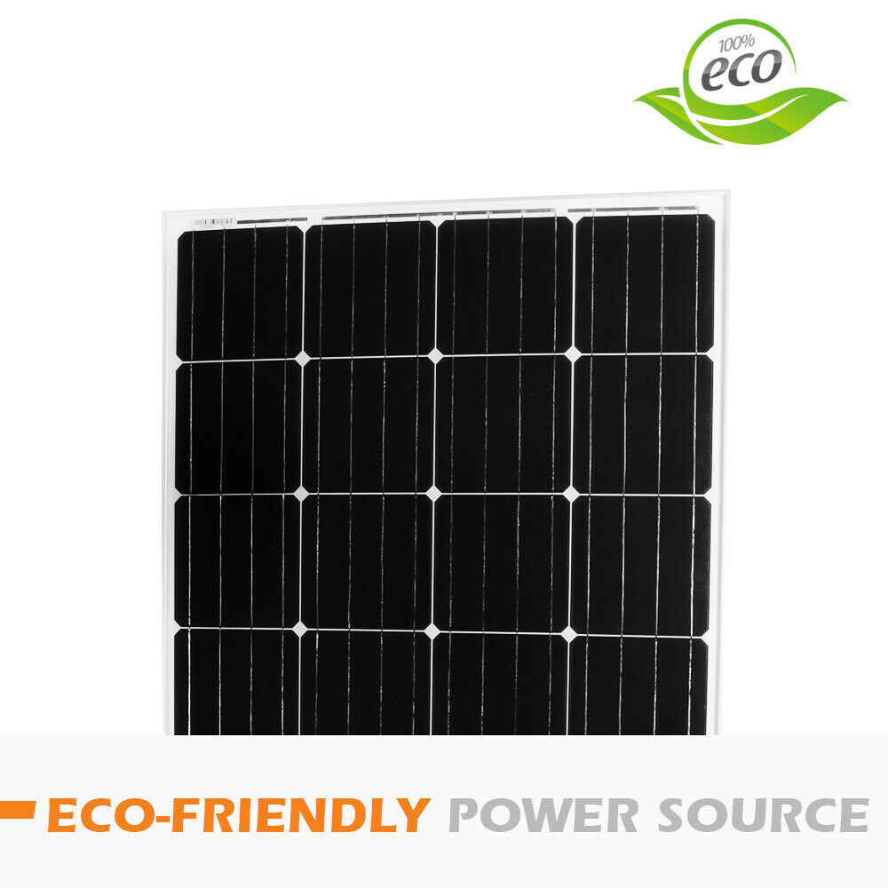 12V-250W-200W-100W-60W-10W-Solar-Panel-Kit-MONO-Caravan-Camping-Power-Charging thumbnail 55