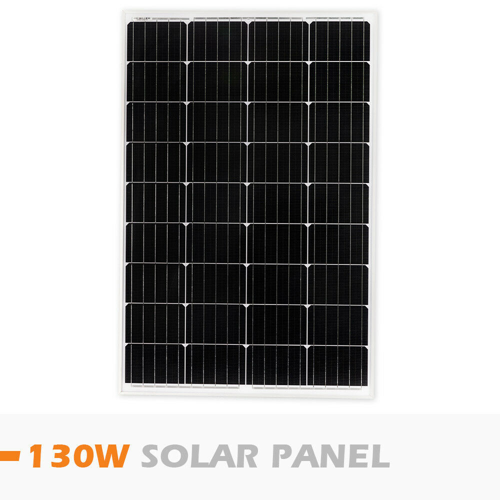 12V-250W-200W-100W-60W-10W-Solar-Panel-Kit-MONO-Caravan-Camping-Power-Charging thumbnail 43