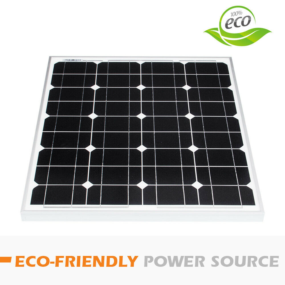 12V-250W-200W-100W-60W-10W-Solar-Panel-Kit-MONO-Caravan-Camping-Power-Charging thumbnail 109