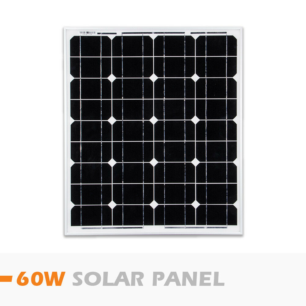 12V-250W-200W-100W-60W-10W-Solar-Panel-Kit-MONO-Caravan-Camping-Power-Charging thumbnail 107