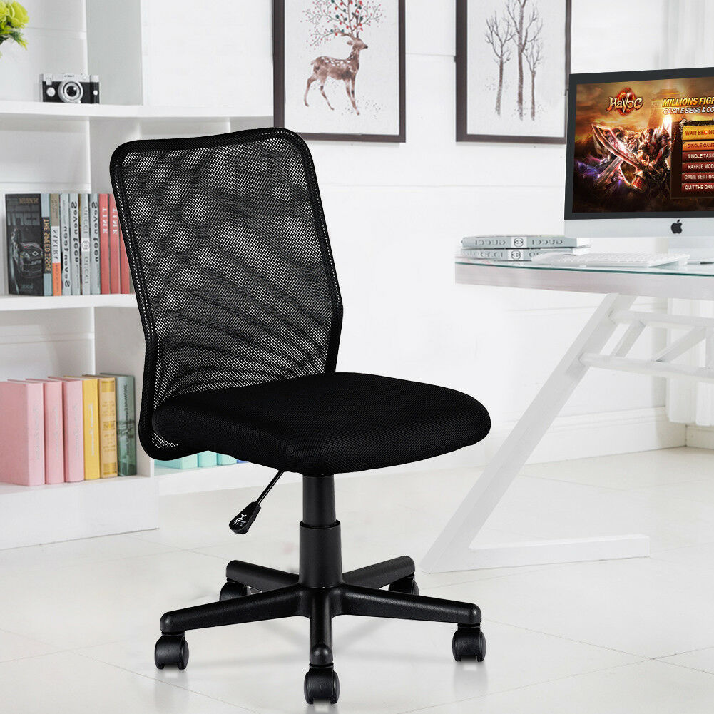 Brilliant New Mid Back Adjustable Ergonomic Mesh Swivel Durable Office Desk Task Chair Download Free Architecture Designs Grimeyleaguecom