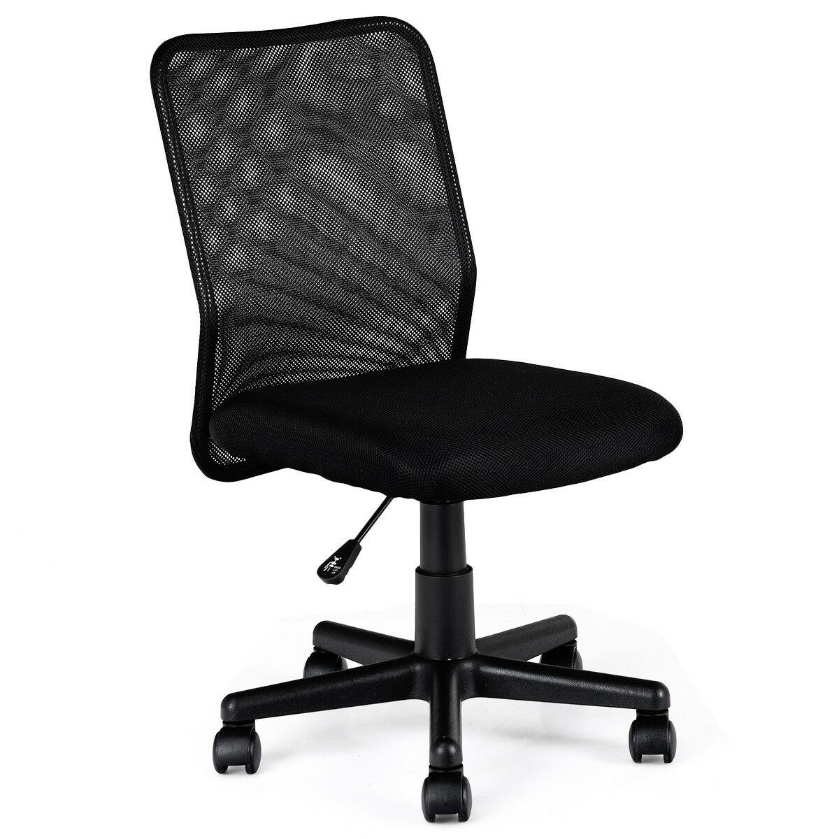 mid back adjustable ergonomic mesh