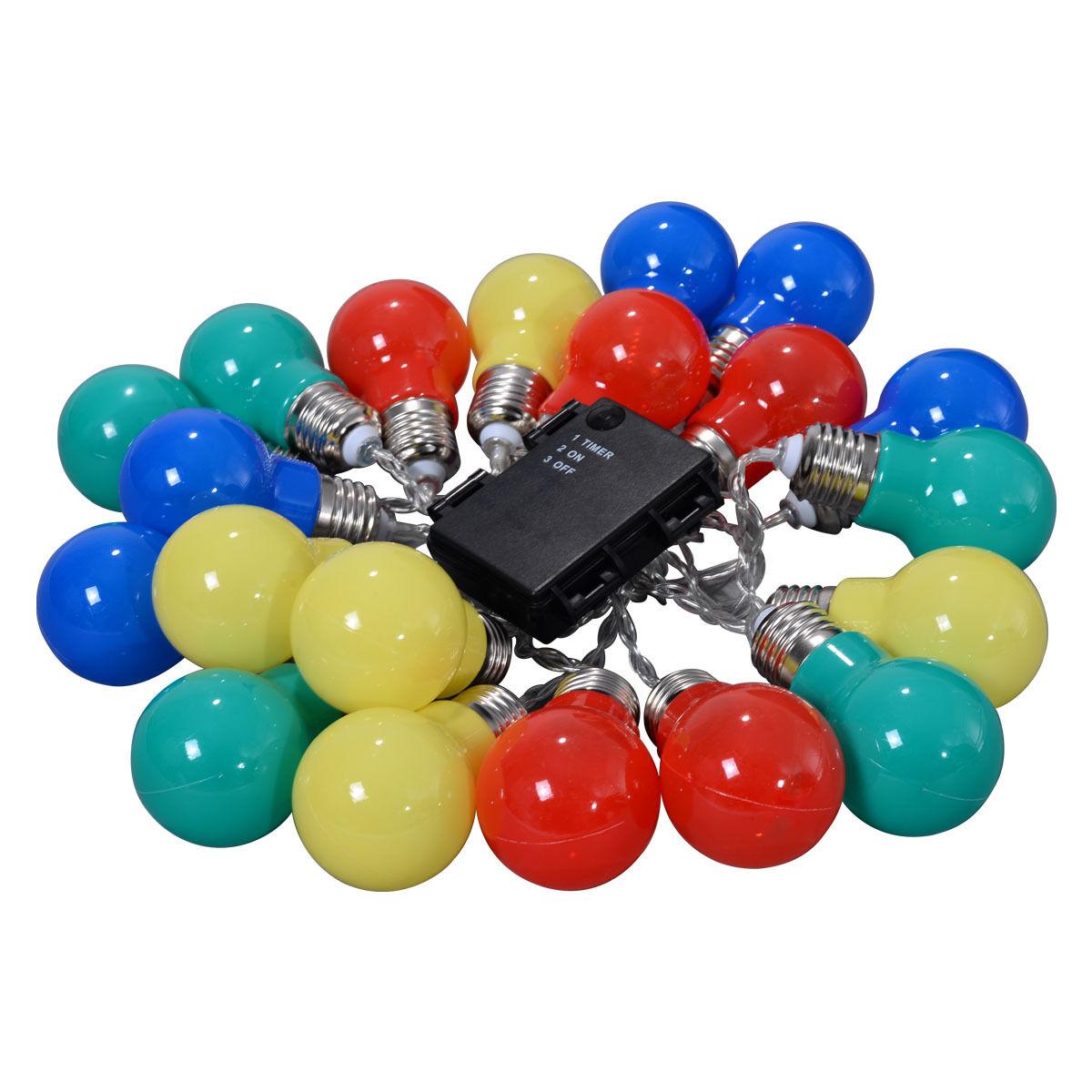 Christmas-LED-String-Ball-Lights-Xmas-Wedding-Party-Garden-Decor-Lamp-Colorful thumbnail 15