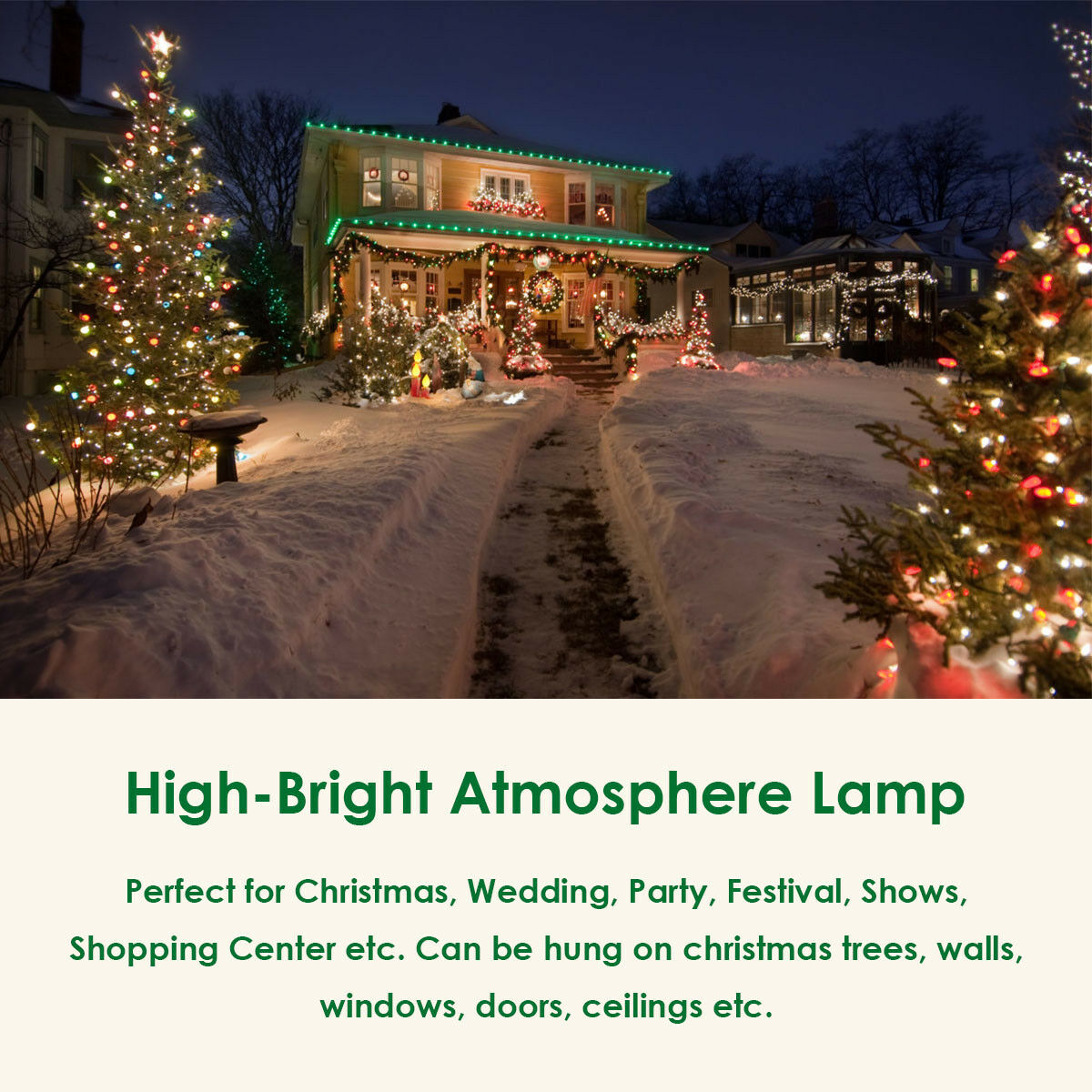 Christmas-LED-String-Ball-Lights-Xmas-Wedding-Party-Garden-Decor-Lamp-Colorful thumbnail 14