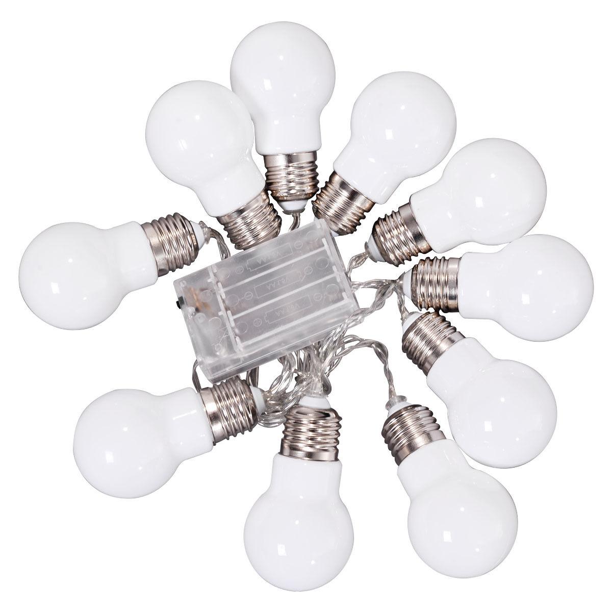 Christmas-LED-String-Ball-Lights-Xmas-Wedding-Party-Decor-Fairy-Lamp-Warm-White thumbnail 14