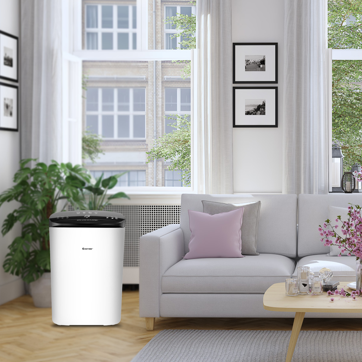 Powerful-Air-Purifier-Cleaner-HEPA-Filter-to-Remove-Odor-Dust-Mold-Smoke thumbnail 7
